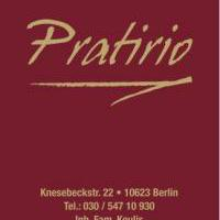 Restaurant Pratirio in Berlin auf bar01.de