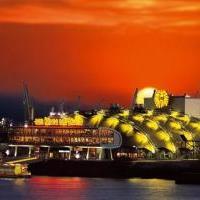 SKYLINE Restaurant im Theater im Hafen in Hamburg auf bar01.de